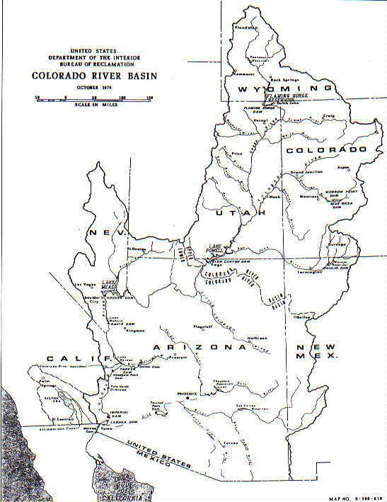 Wyoming State Water Plan Green River Basin Advisory Group Colorado River Ba