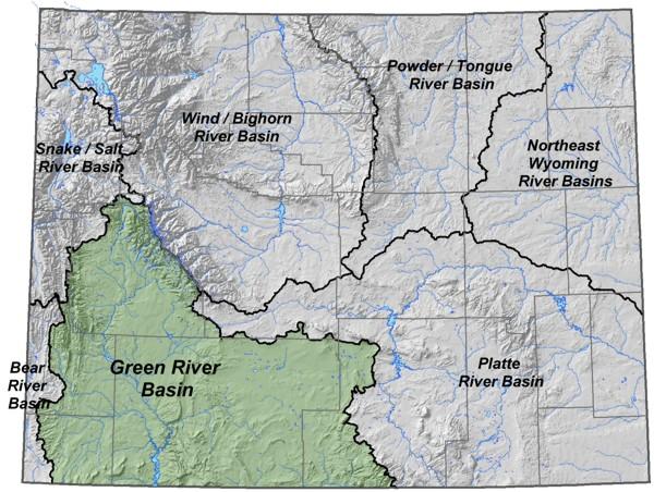 Wyoming State Water Plan Green Little Snake River Basins