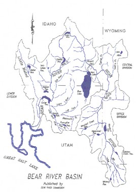 Bear River Basin Map