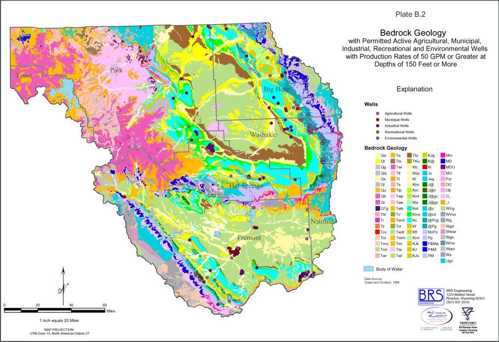 Wyoming State Water Plan - Wind/Bighorn River Basin Plan