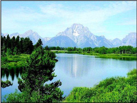 Snake River Mountains Image