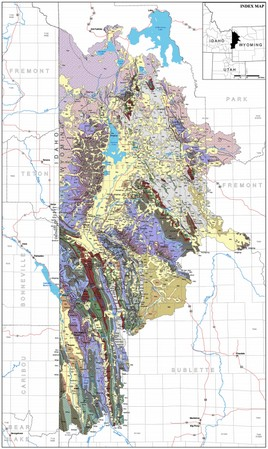 Snake River Basin Groundwater map