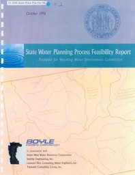 Wyoming STate Planning Process Feasibility Report Cover